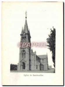 Postcard Ancient Church Of Rambouillet