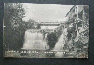 Bridge At Utters Mill East Durham Catskill Mtns NY 1924 Pub E Palmer