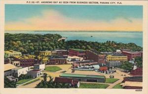 Florida Panama City St Andrews Bay As Seen From Business Section