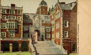PA - Philadelphia. University of Pennsylvania, Dormitory