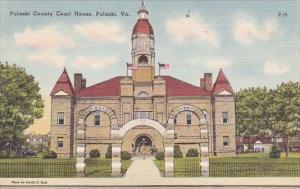 Virginia Pulaski County Court House