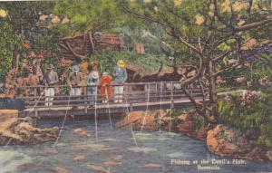 Fishing at the Devil's Hole, Bermuda, 30-40s