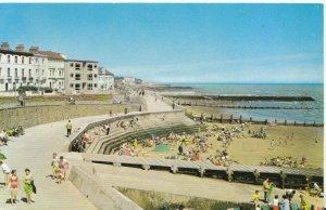 Essex Postcard - The Esplanade and Beach - Walton-on-the-Naze - Ref TZ1627