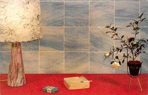 Advertising Post Card Markwa Marble wall and floor tile Unused