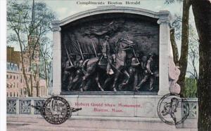 Massachusetts Boston Robert Gould Shaw Monument
