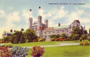 WASHINGTON UNIVERSITY, ST. LOUIS, MO 1946