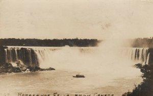 RP: NIAGARA FALLS, Ontario , PU-1909 ; Horseshoe Falls from Canada