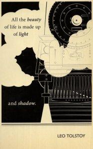 Leo Tolstoy Anne Karenina Book Quote Postcard