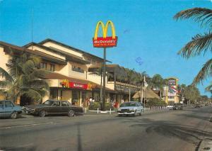 Aruba Shopping Center McDonald's Restaurant Vintage Postcard JE229582