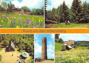 Rund um den Adlersberg, Bergbaude Adlersberg Turm Teilansicht Vesser