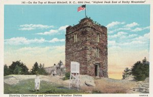 MOUNT MITCHELL, North Carolina, 30-40 Observatory and Government Weather Station