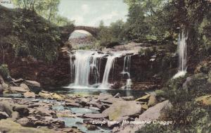 Lumo Falls, Hardcastle Craggs, West Yorkshire, England, UK, 1900-1910s
