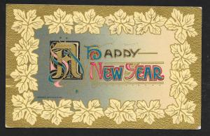 Happy New Year by John Winsch used c1910