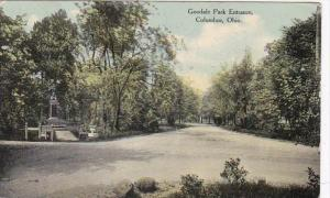 Ohio Columbus Goodale Park Entrance 1910 Curteich