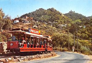 Portugal Old Vintage Antique Post Card Tram Car Sintra Postal Used Unknown, M...