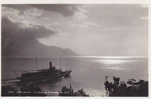 RP, Le Bateau Express Du Soir, Lac Leman, Switzerland, 1920-1940s