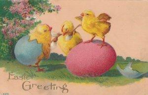 EASTER, 00-10s; Greetings, Chicks, eggs