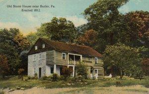 BUTLER, Pennsylvania, PI-1915; Old Stone House
