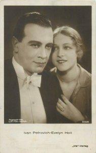 Actors Ivan Petrovich & Evelyn Holt