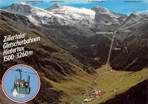 Zillertaler Gletscherbahnen Hintertux Sommerbergalm Tuxerjoch Olperer