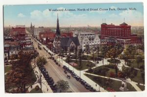 P636 JLs old card woodward ave north of grand circus park detroit mich.