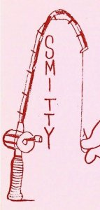 Vintage QSL Postcard  KRM 0959  Cleveland, Ohio  Smitty & Ruby Baxter  -T-