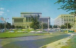 Mac Arthur Square Showing Court House and Safety Building Milwaukee Wisconsin