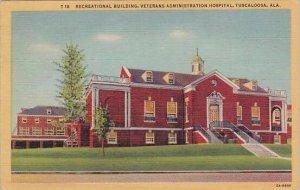 Alabama Tuscaloosa Receational Building Veterans Administration Hospital