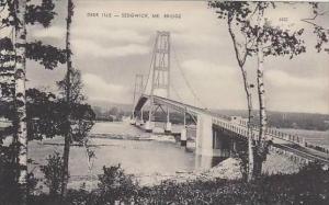 Maine Sedgwick Deer Isle Bridge Albertype
