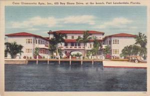 Florida Fort Lauderdale Casa Glamaretta Apartments Inc 435 Bay Shore Drive At...