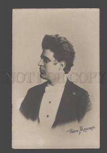 088122 MASCAGNI Famous Italian COMPOSER Vintage PHOTO RARE