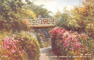 uk223 ashton gardens and bridge st annes on the sea  uk