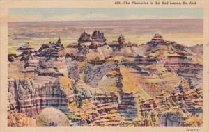 The Pinnacles In The Bad Lands South Dakota