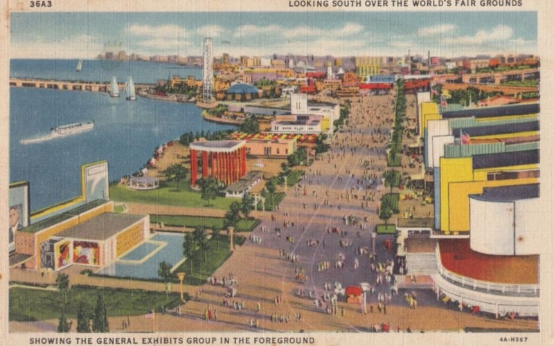 CHICAGO , Illinois 1933 Exposition ; GE Group