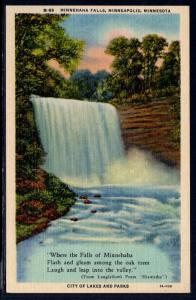 Minnehaha Falls,Minneapolis,MN