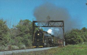 Blue Mountain & Reading Railroad Reading Class T-1 4-8-4 Locomotive Number 2102