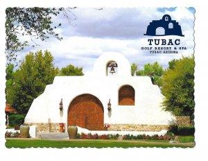 Tubac Golf Resort & Spa Entrance Tubac Arizona 4 by 6