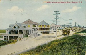HAMPTON , New Hampshire, 1908 ; Looking North
