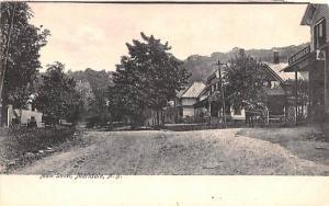 Main Street Meridale, New York Postcard