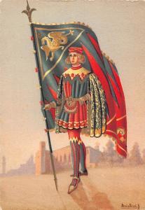 Paggi delle contrade storiche di Siena Drago Squire Knight Chevalier