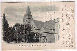 1st English Lutheran Church Los Angeles CA '08 postcard