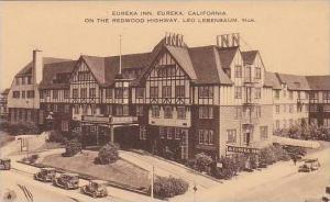 California Eureka Eureka Inn On The Redwood Highway Artvue
