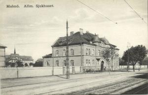 sweden, MALMÖ, Allmänna Sjukhuset, General Hospital (1910s)