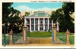 Mississippi Natchez Dunleith Residence Of J N Carpenter Curteich