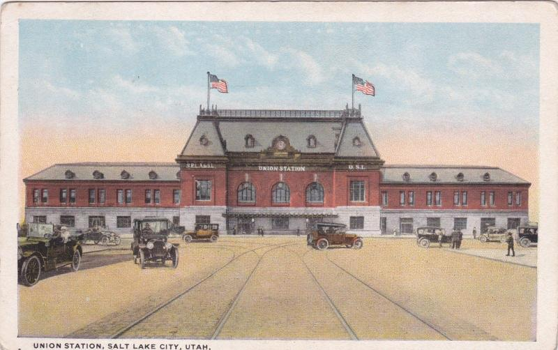 SALT LAKE CITY, Utah, 00-10s; Union Station