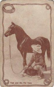 Cowboy Actor TOM MIX, 30s-40s; # 22, Tom and His Pal Tony (Horse)