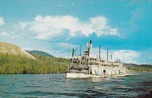 S. S. Klondike, Yukon River near Carcross, H. R. H. Prince Philip aboard, 194...