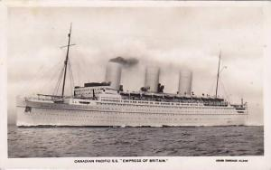 RP; Canadian Pacific S.S. Empress of Britain, 10-20s