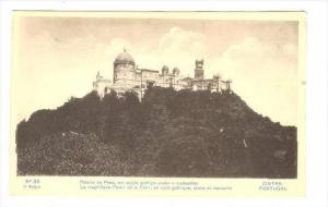 Palacio Da Pena, Em Estylo Gothigo, Arabe e Manuelino, Cintra, Portugal, 1900...