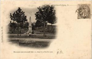 CPA CHATILLON-COLIGNY Monument commemoratif (607473)